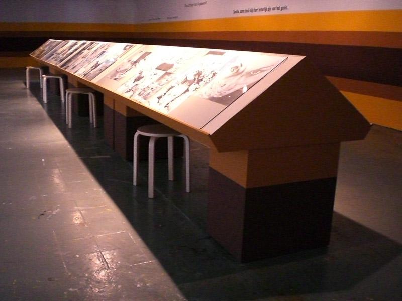 Presentation at Quartair, the Hague  2006 original pencil drawings