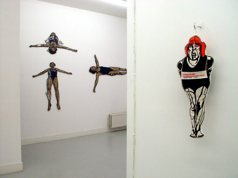 Friends exhibition at GAU, Utrecht, 2005