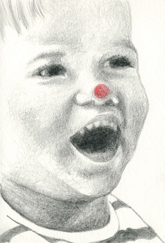 Sam 19, 2004, pencil drawing, A5