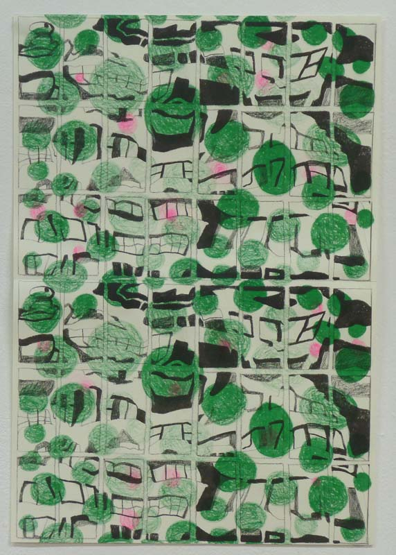 Cityscape 2016 riso print compilation of A4 prints