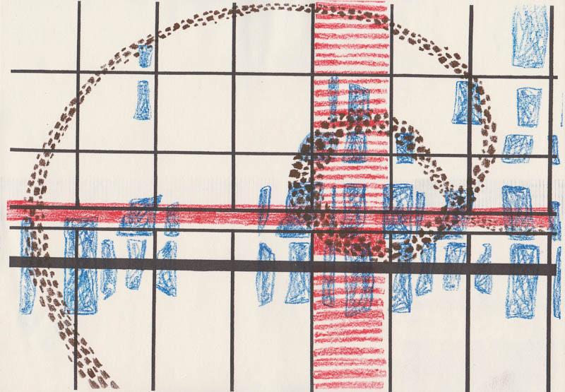 cityscape 2015 riso print on paper A4