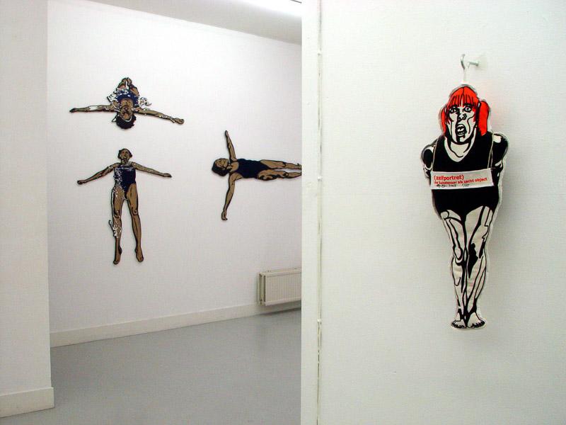Friends exhibition at GAU, Utrecht, 2005