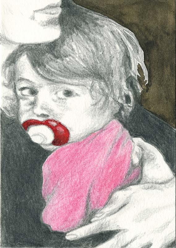 Gwen 37, 2005, pencil drawing, A5