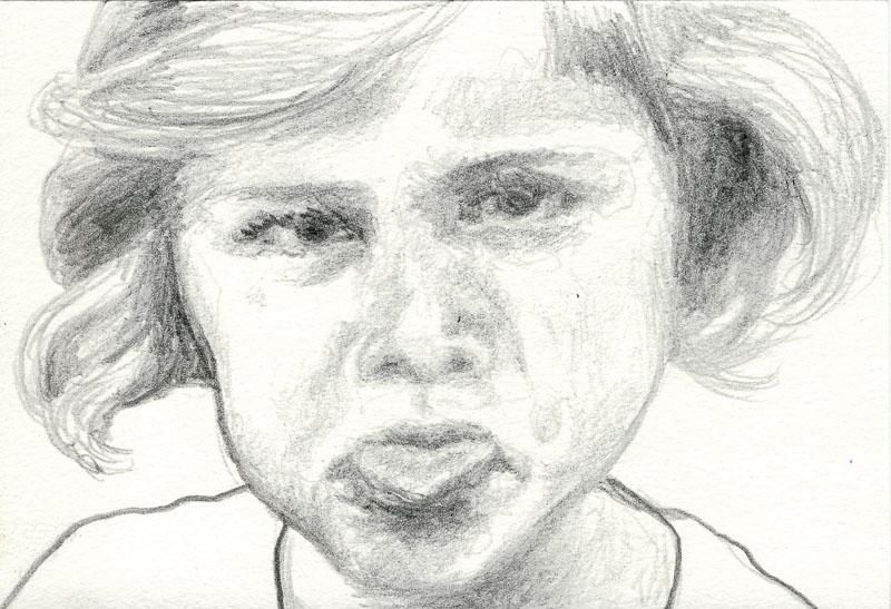 Gwen 77, 2007, pencil drawing, A5