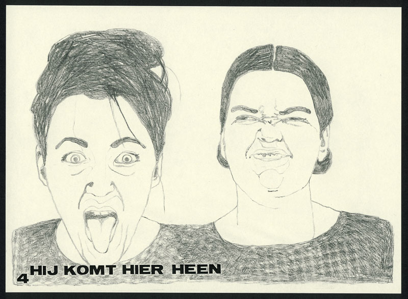 <strong>Hoi 4</strong> 1997 A5 pencil drawing