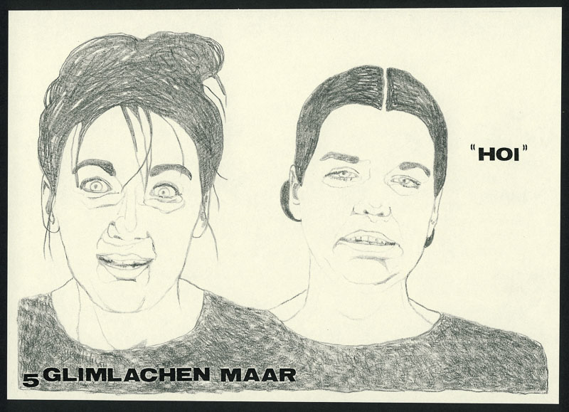 <strong>Hoi 5</strong> 1997 A5 pencil drawing