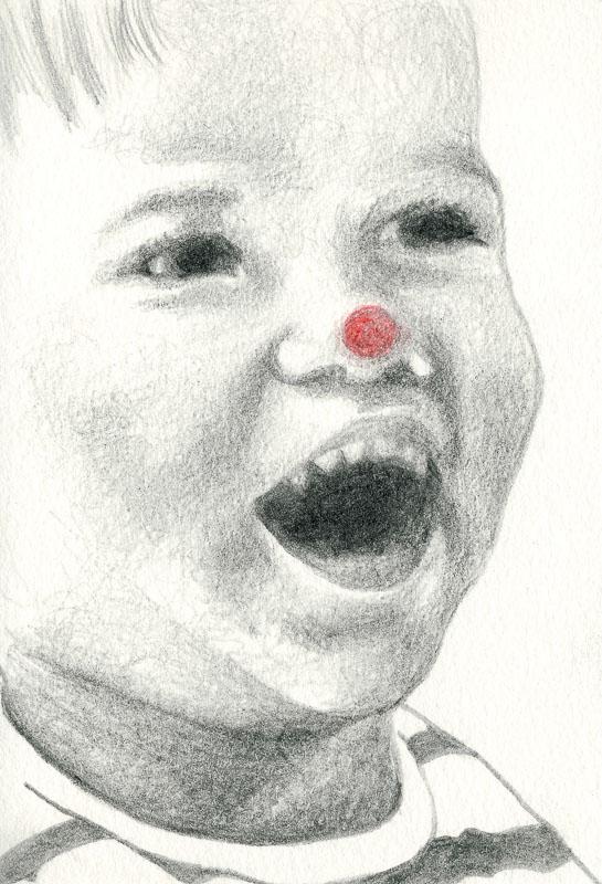 Sam 19, 2004, pencil drawing, A5
