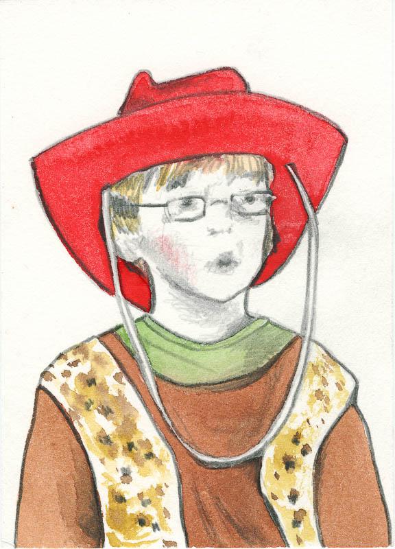 Sam 56, 2006, pencil drawing, A5