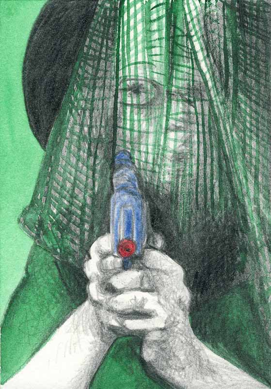 Sam 74, 2007, pencil drawing, A5