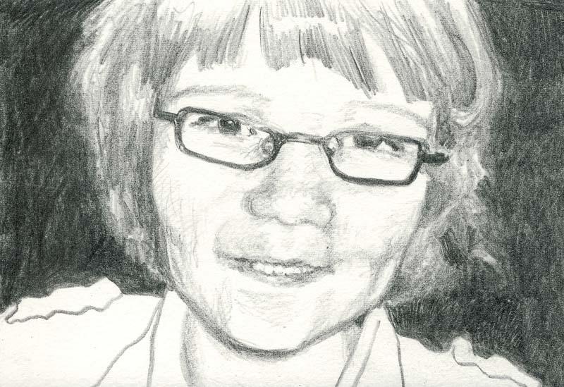 Sam 86, 2007, pencil drawing, A5