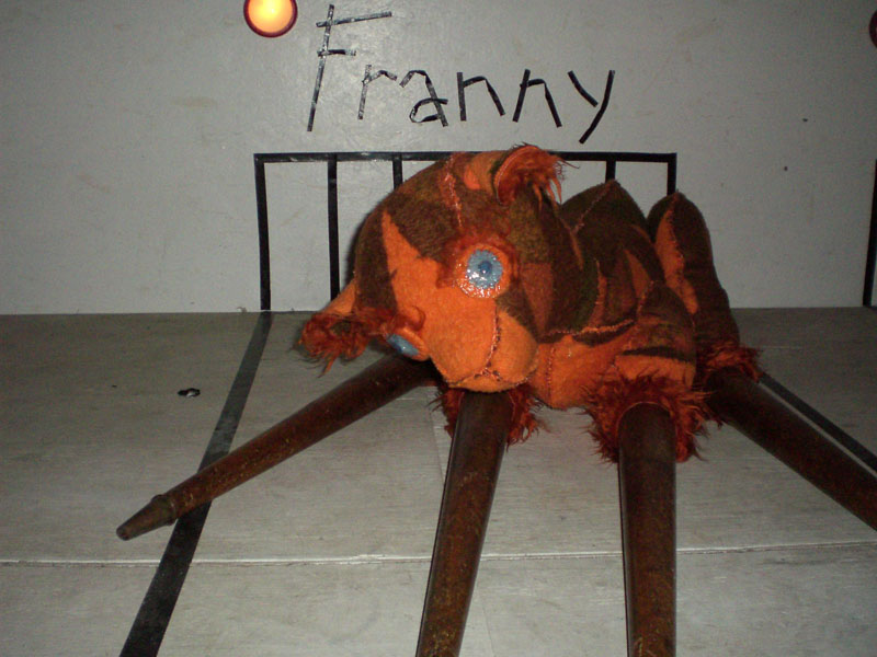 Franny (dear), the Nursery, 2008, 60x110x100 cm.