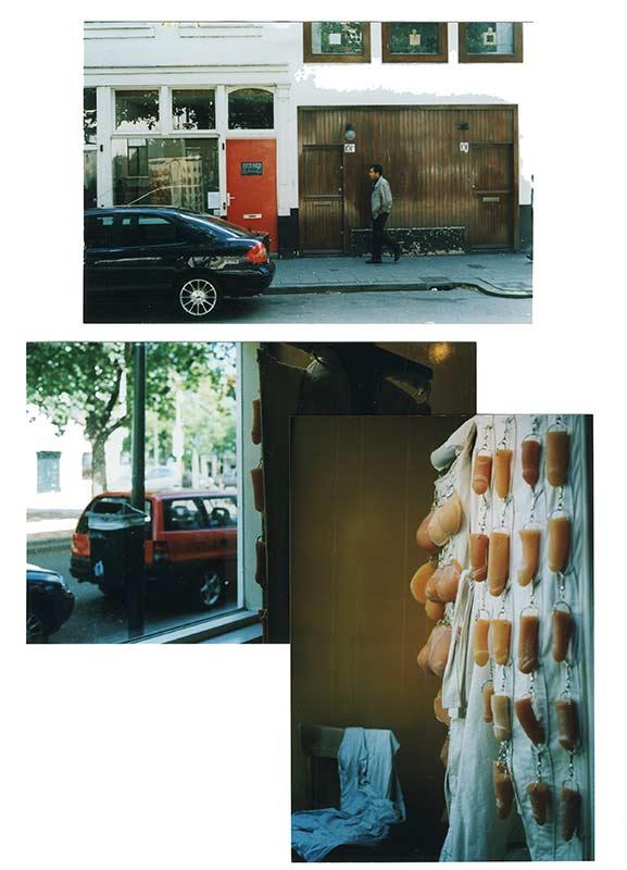 De Jas in the window of Hot Red Lokaal, 2002