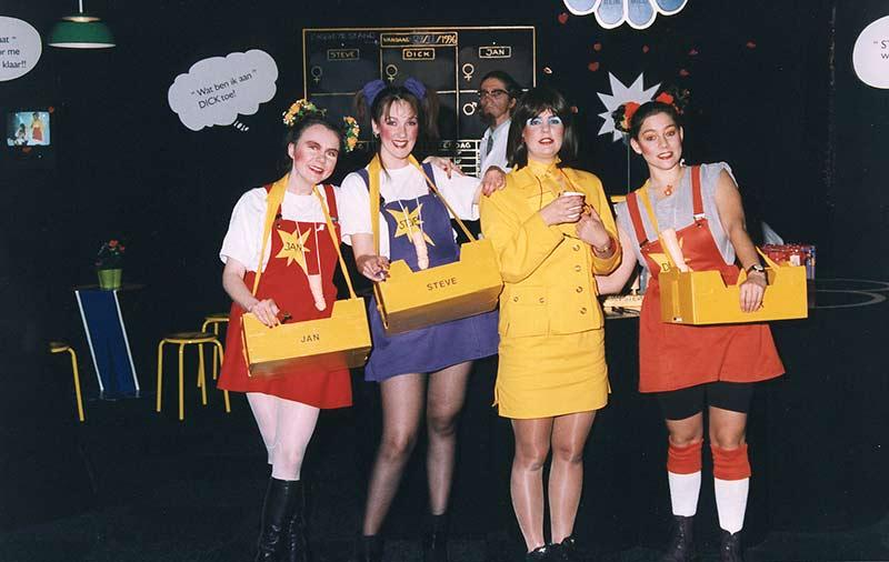 the Jongeheerzepen promo team at Erolife'96